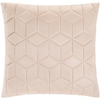 Link to The Curated Nomad Sawyer Velvet Geometric 20-inch Throw Pillow Cover Similar Items in Decorative Accessories
