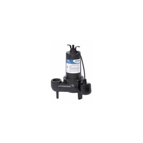 PROFLO PF93501 1/2 HP Cast Iron Sewage Pump with Float Switch -