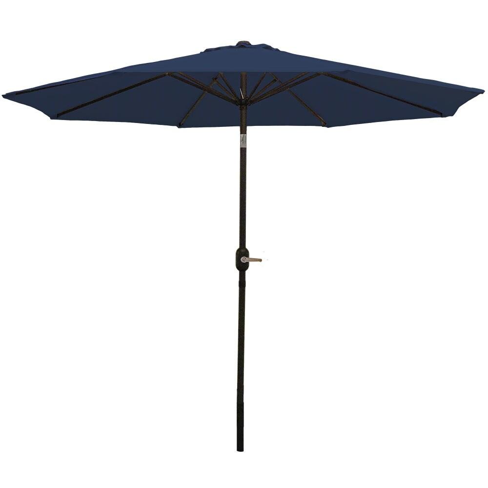 Sunnydaze Aluminum 9 Foot Patio Umbrella with Tilt & Crank - Thumbnail 31