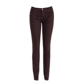 Monkee Genes Classic Organic Skinny Jeans in Chocolate Sateen