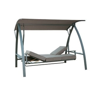 Link to BestLiving 3-Seat Daybed Swing with Stand Similar Items in Patio Furniture