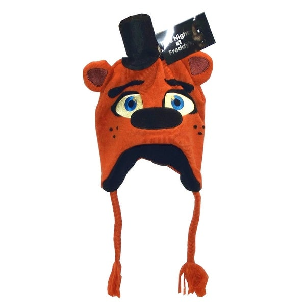 Five Nights At Freddy's Character Beanie: Fazbear - brown
