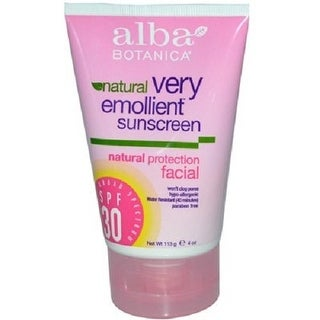 Very Emollient Sunscreen; Facial Spf 30