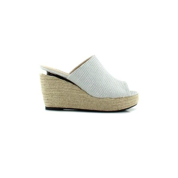 J.Renee Prys Women's Sandals & Flip Flops Platinum