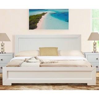 Link to Trent Wooden Platform Bed Similar Items in Bedroom Furniture