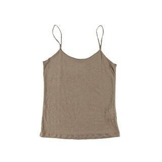 Zara TRF Womens Linen Heathered Camisole