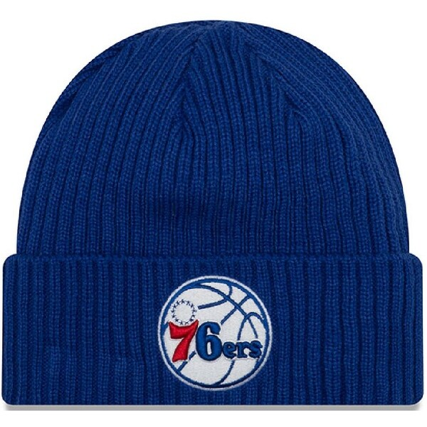 f74b62ee14f7e3 Shop New Era Unisex Core Classic Knit Philadelphia 76Ers Beanie, Adult,  Blue, Os - Blue - On Sale - Free Shipping On Orders Over $45 - Overstock -  25695821