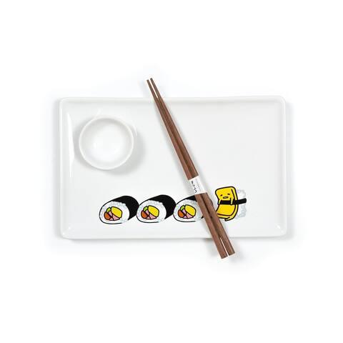 Gudetama Stoneware Sushi Set