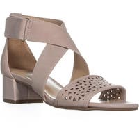 Naturalize Adaline Perforated Sandals, Soft Marble