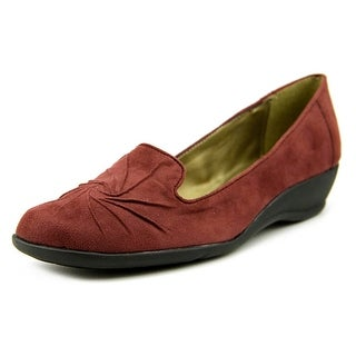 Soft Style by Hush Puppies Rory N/S Open Toe Canvas Wedge Heel