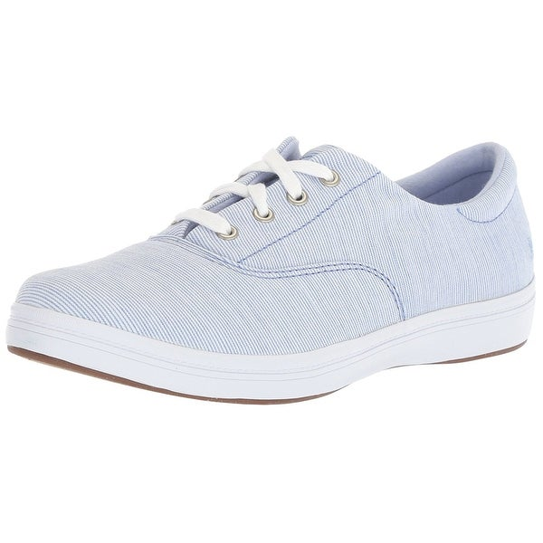 5cf970b79 ... Athletic Shoes. Grasshoppers Womens Janey Fabric Low Top Lace Up  Fashion Sneakers