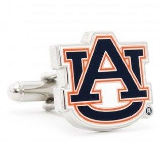 Auburn University Tigers Cufflinks - Multicolored