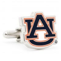 Auburn University Tigers Cufflinks - Multicolored