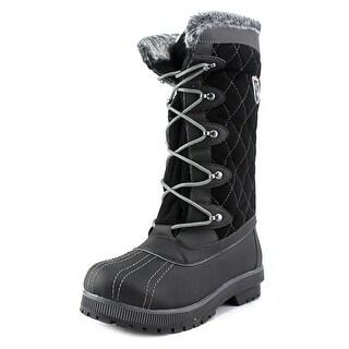 Sporto Camille Women  Round Toe Synthetic Black Snow Boot