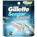 Gillette Sensor Excel Cartridges 10 Each - Thumbnail 0