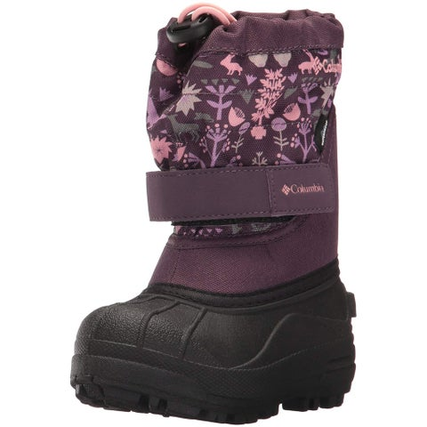 Columbia Womens Powderbug Plus II Closed Toe Mid-Calf Cold Weather Boots