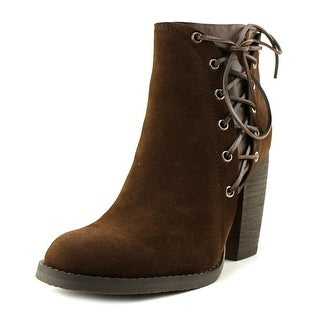 Volatile Seesta   Round Toe Canvas  Ankle Boot