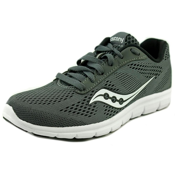 Saucony Ideal Women Round Toe Synthetic Gray Running Shoe