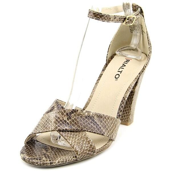 Rialto Raziela Women Open Toe Leather Multi Color Sandals
