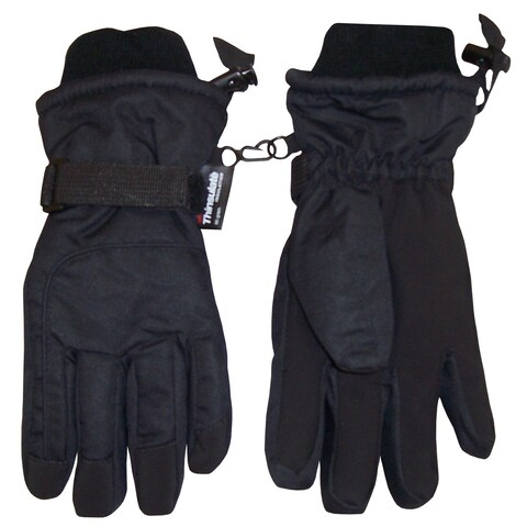 NICE CAPS Adults Unisex Extreme Cold Weather 80 Gram Thinsulate Waterproof Ski Gloves