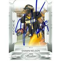 Shawn Nelson autographed Football Card (Southen Miss) 2009 Panini