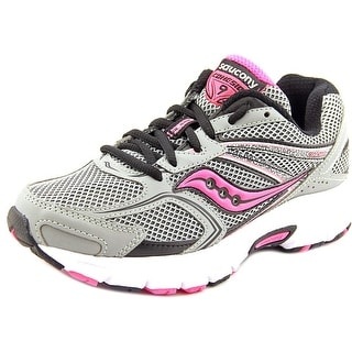 Saucony Grid Cohesion 9 Women W Round Toe Synthetic Gray Running Shoe