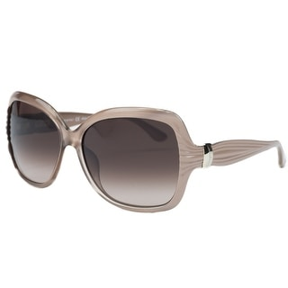 Salvatore Ferragamo SF 649S/663 Pearl Rose Oversized Square Sunglasses