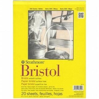 Strathmore Bristol Smooth Paper Pad 9 X12 -20