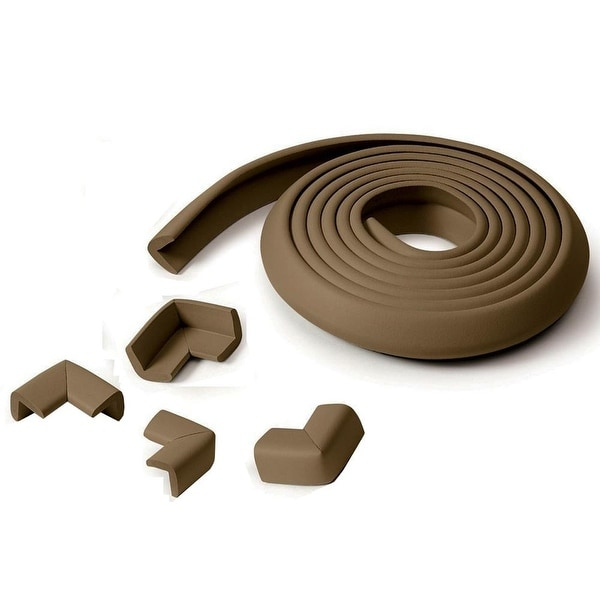 Wan-a-Beez Table Edge Guards With 4 Corners in Chocolate
