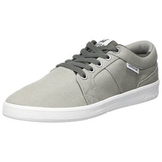 SUPRA Mens Ineto Canvas Low Top Lace Up Skateboarding Shoes