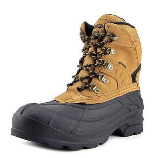 Kamik Fargo Men  Round Toe Suede Tan Hiking Boot