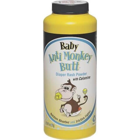 Anti-Monkey Butt 815006 Baby Powder, 6 Oz