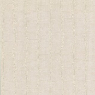 Brewster 412-56907 Cairo White Leather Wallpaper