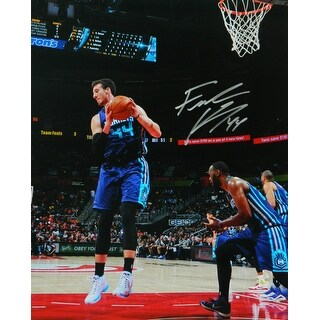 Frank Kaminsky Signed Charlotte Hornets Rebound Action 16x20 Photo