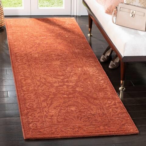 Safavieh Handmade Silk Road Fransien Traditional Oriental Wool Rug