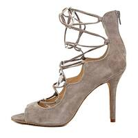 Vince Womens Sandria Suede Peep Toe Special Occasion Strappy Sandals - 10