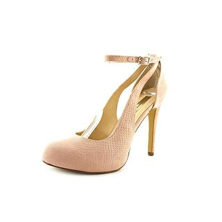 INC International Concepts Lucey Women  Open Toe Synthetic Pink Platform Heel