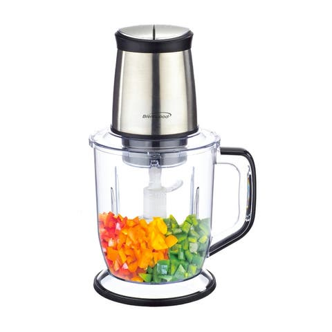 Brentwood 6.5 Cups Food Processor in Stainless Steel