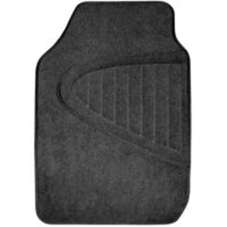Auto Expressions CN1404-BLACK Deluxe Car Floormat, Black