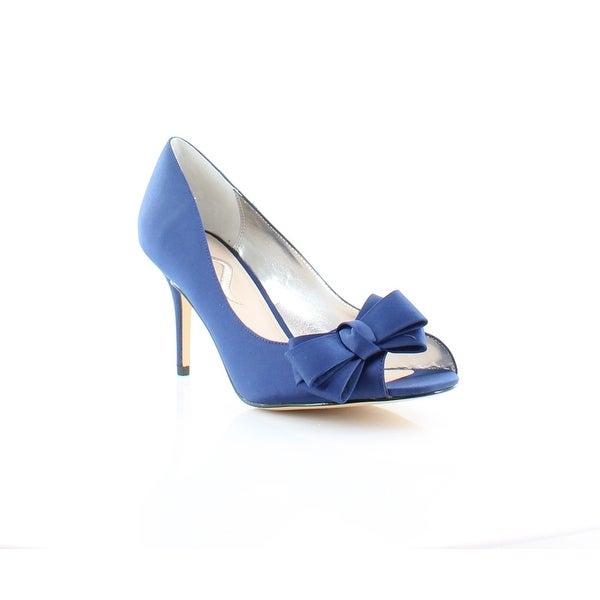 Nina Florice Women's Heels Navy Blue