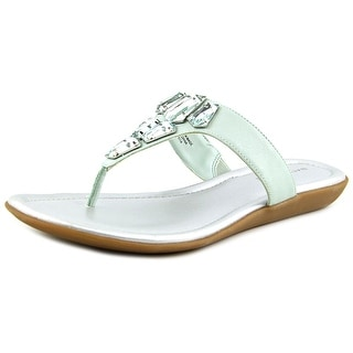 Bandolino Jesane Open Toe Canvas Thong Sandal