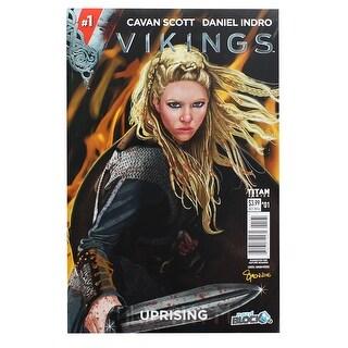 Vikings Uprising #1 Comic Book (Nerd Block Cover) - multi