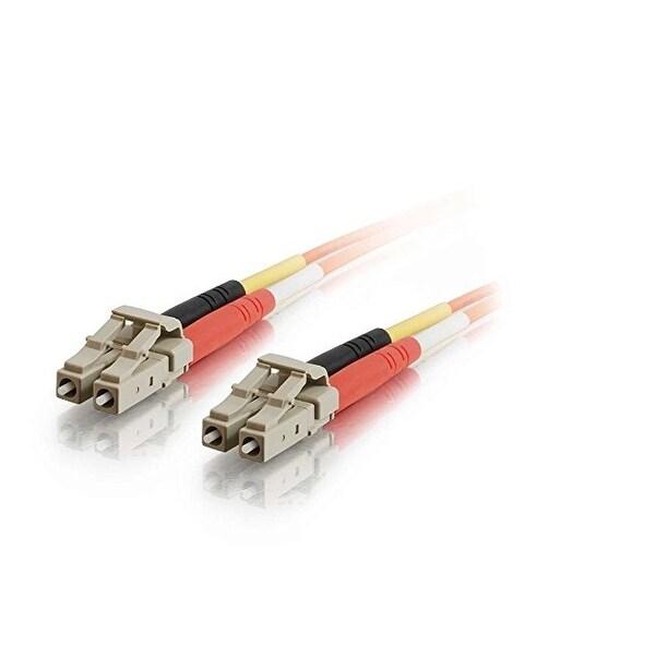 C2g 33028 2M Lc-Lc 50/125 Om2 Duplex Multimode Pvc Fiber Optic Cable - Orange