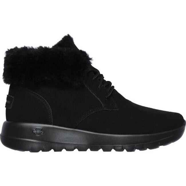 skechers go walk ankle boots