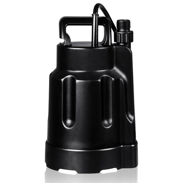 Costway 1/2HP Multi-Purpose Thermoplastic Utility Water Pump for Clean Water 1585 GHP