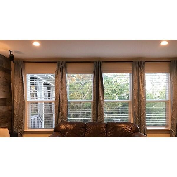 Shop Adjustable 12 To 20 Foot Patio Door Curtain Rod 240 On Sale
