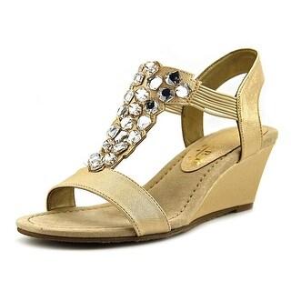 New York Transit Got Glass Women W Open-Toe Synthetic Slingback Sandal