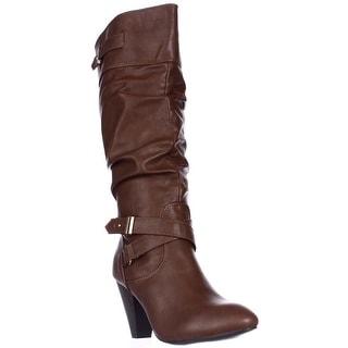 Rampage Eliven Mid-Calf Boots - Cognac