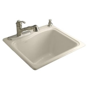Kohler K 6657 1 River Falls Self Rimming Sink With One Hole