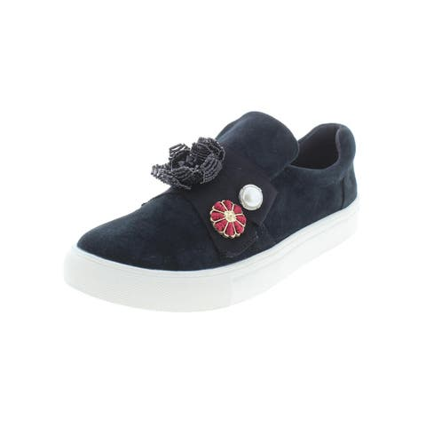 Nanette Lepore Womens Wilma Fashion Sneakers Leather Round Toe